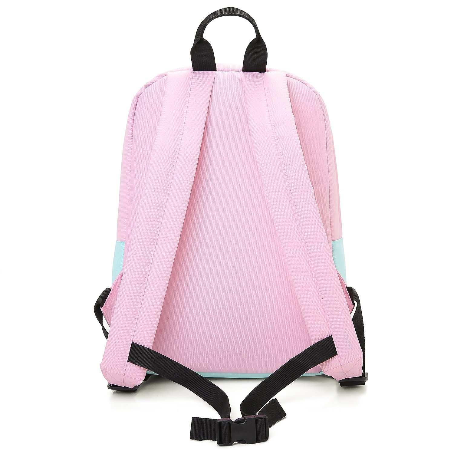 43d56e6da9 Amazon.com  mommore Kids Backpack for School Lunch Bag with Chest Clip Best  for 3-6 Years Old (Pink and Blue)  Toys   Games