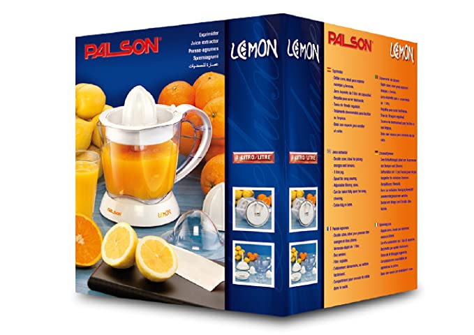 Palson 30541 Exprimidor, 0,6 l, 450 W, Color blanco: Amazon.es: Hogar