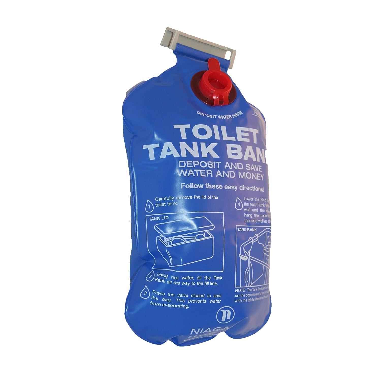 [TREVAL France] Ecobag - Sac Economiseur d'eau pour toilettes 2, 5 L
