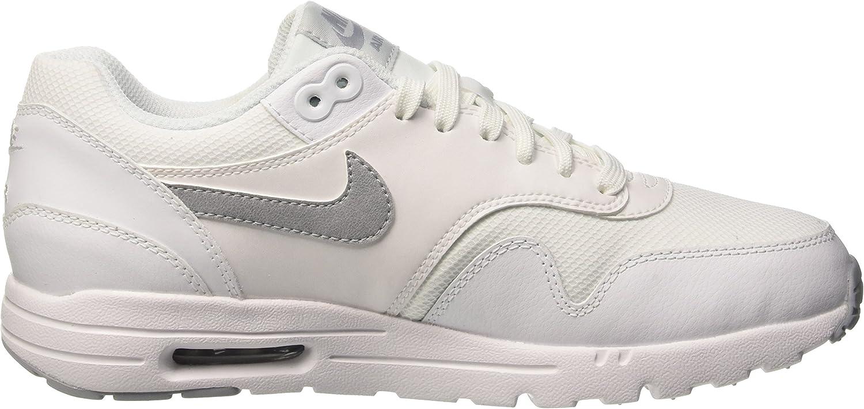 Nike Women's 704995 101 Training Running Shoes White / Pure Platinum-metallic Silver-wolf Grey