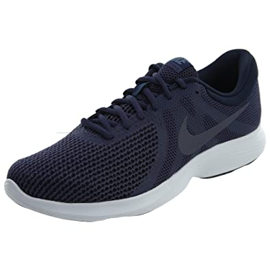754aadb974b4 Nike Mens Revolution 4 NTRL Indigo LT CRBN Obsidian Size 6