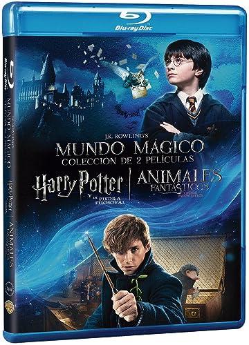 Dúo Harry Potter 1 + Animáles Fantásticos Blu Ray Blu-ray: Amazon ...