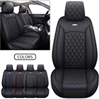 Seametal Leather Travel Seat Cover Cushion,Premium 12V 24V Leather Warm Seat Cover Pad for Home Office