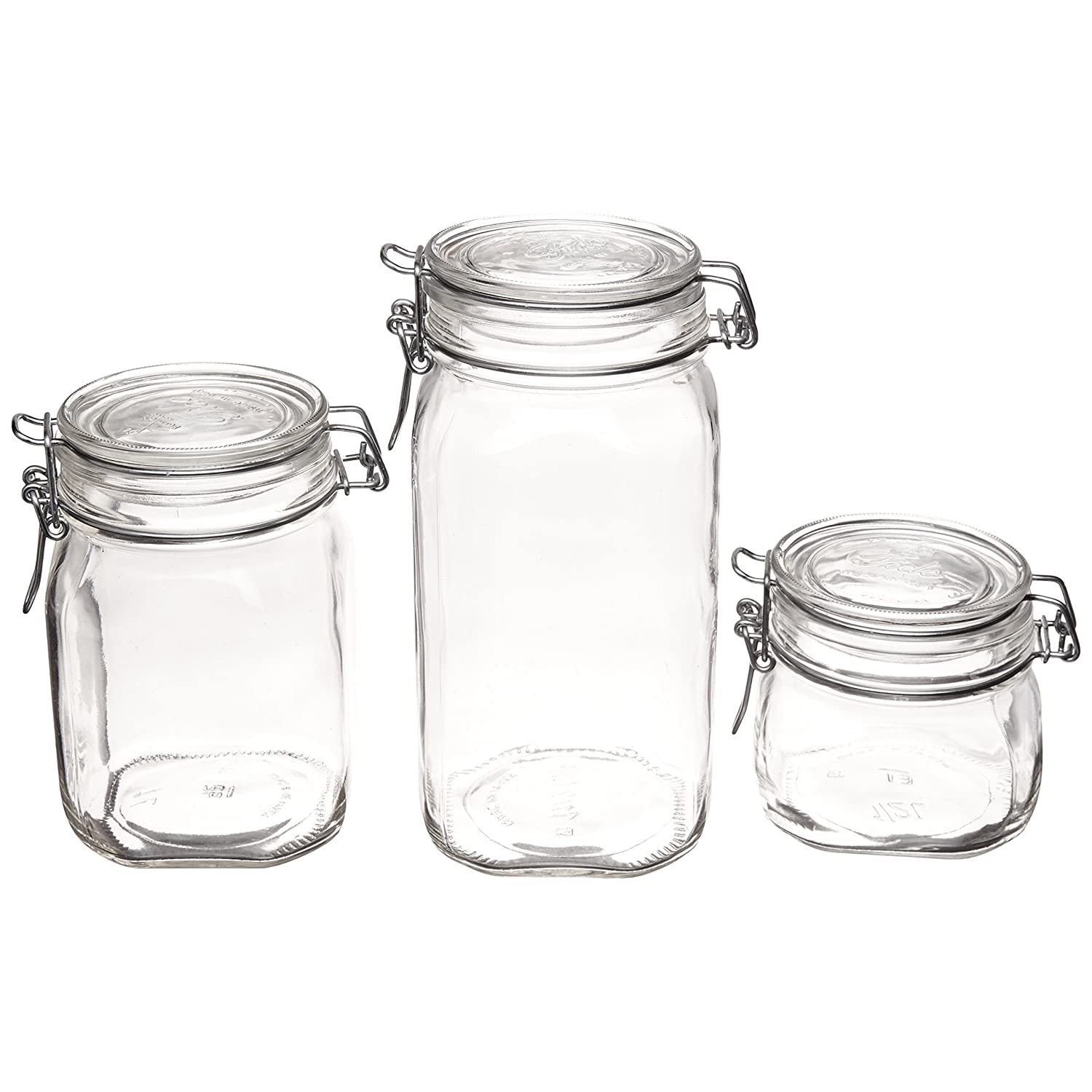 Bormioli Rocco Hermetic Glass Canister Set of 3 Review