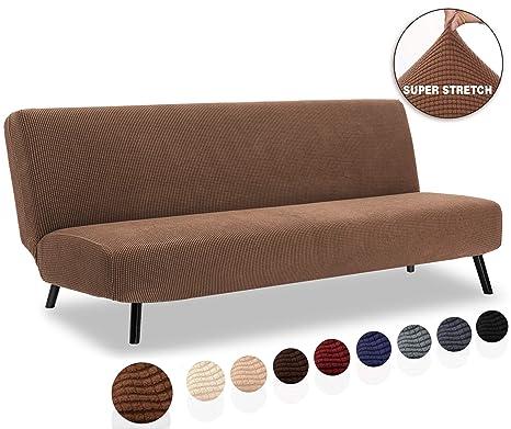 TIANSHU Funda de sofá sin Brazos, Funda elástica para sofá ...