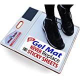 StepNGrip Courtside Shoe Grip Traction Mat - NEWEST Sticky Mat - Never Needs Replacement Sheets, Allows Court Grip for Basketball Volleyball. Sticky Stop Power …