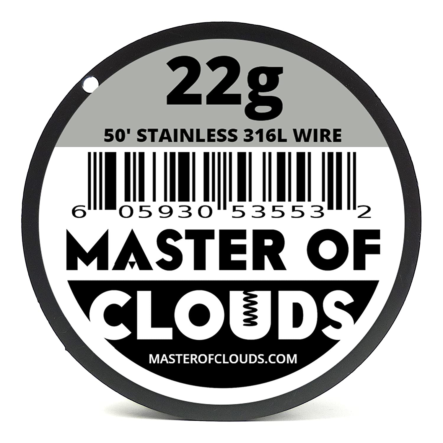 Mixed 550 Feet of SS 316L Wire 22, 24, 26, 28, 30, 32, 34, 36 Gauge ...