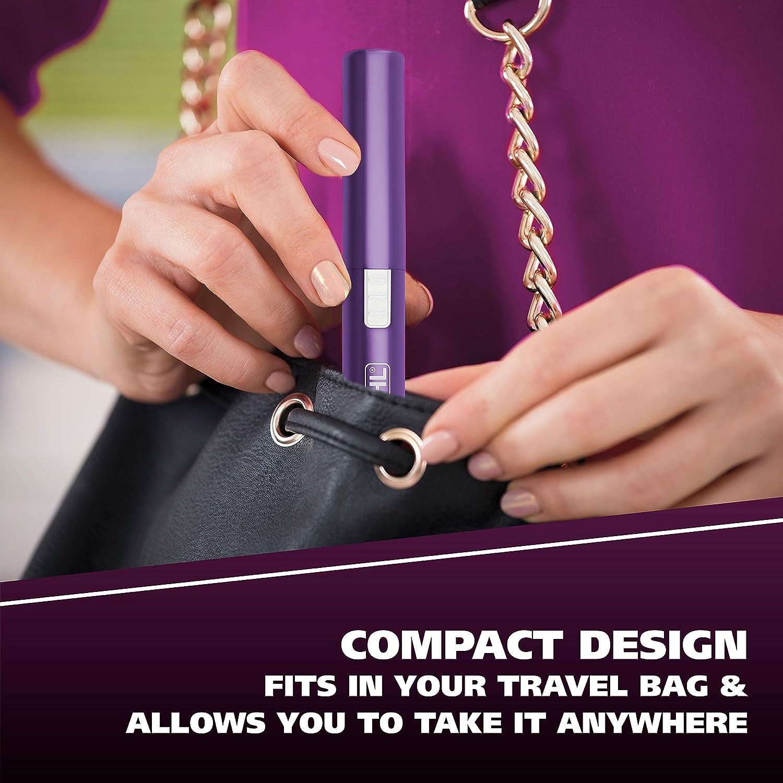 Nose Hair Trimmer for Men Women Clean and Confident Precision Detailer Purple