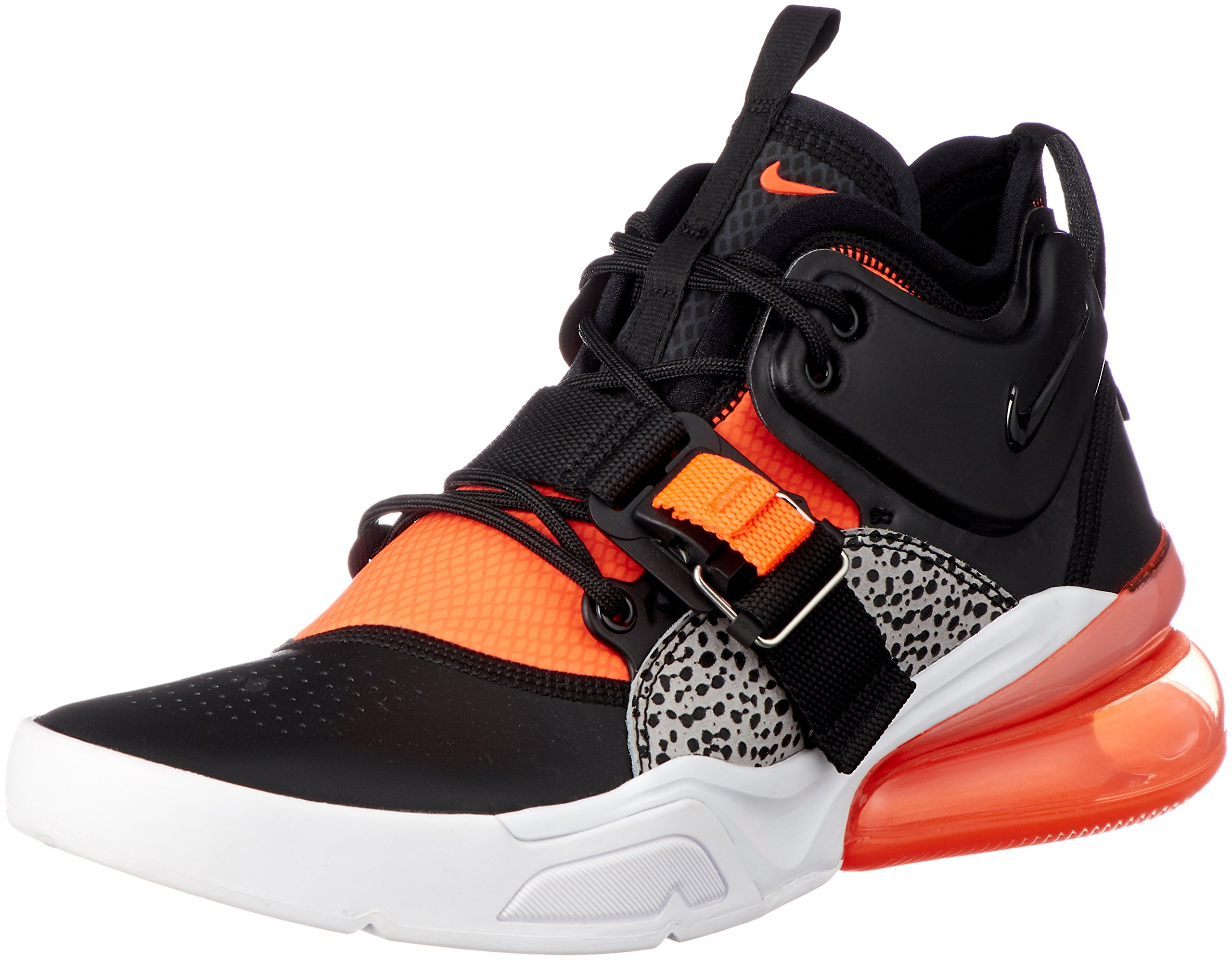 uk availability 6ac08 d06e9 Nike Air Force 270 Mens Shoes Black/Hyper Crimson/Wolf Grey ah6772-004 (8  D(M) US)