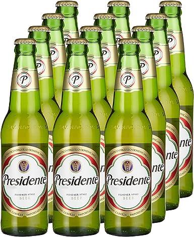 Presidente cerveza cerveza Domini Cana (12 x 0.355 L): Amazon ...