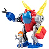 Rusty Rivets, Mechsuit, Snap 'n' Build Construction with Lights, Sounds, and Rusty Figure, for Ages 3 and Up