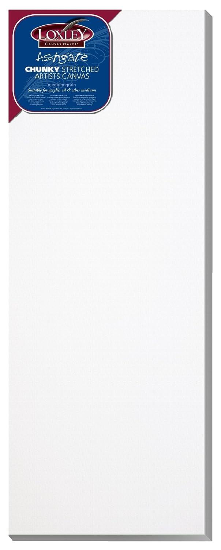Colorful Chunky Stretched Artisti Ashgate Loxley Arts - tela (81,3 x 30,5 cm, 36 mm di larghezza), bianco Colourfull Arts ACC-3212