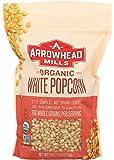 Arrowhead Mills Organic White Popcorn, 24 oz. (Pack of 6)