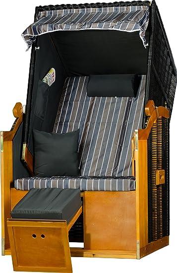 strandkorb einsitzer grau rugbyclubeemland. Black Bedroom Furniture Sets. Home Design Ideas