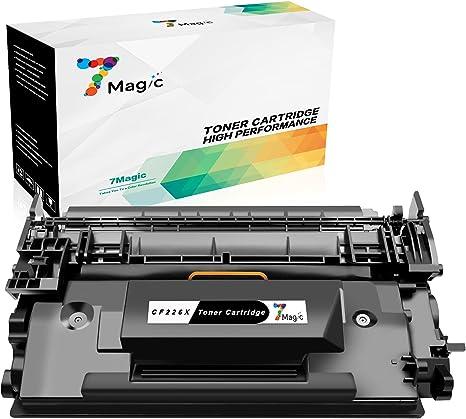 Cartucho de Tóner Compatible HP 26X CF226X de 7Magic para ...
