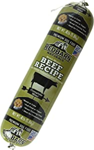 Redbarn Pet Products Beef Food Roll, Net Weight 4 Pounds