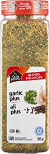 Club House, Quality Natural Herbs & Spices, One Step Seasoning, Garlic Plus, 580g