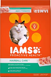 Iams Proactive Health Adult Hairball Control Dry Cat Food
