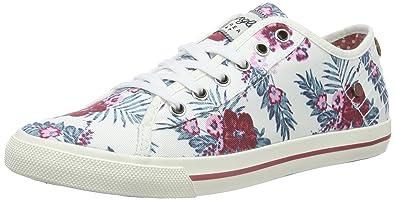 dd14b2c99e Wrangler Starry Low, Damen Sneakers, Mehrfarbig (379 Flowers), 36 EU