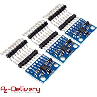 AZDelivery ⭐⭐⭐⭐⭐ 3 x GY-521 MPU-6050 3-Axis Gyroscope and Accelerometer Module for Arduino