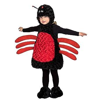 My Other Me Me Me- Araña Animales DISFRAZ Color negro-rojo 205203 ...
