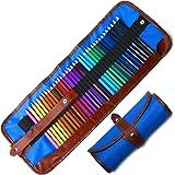 Buntstifte Set, 36 Brillanten Farben Bleistift Set mit Leinwand Roll-up für Kinder & Erwachsene