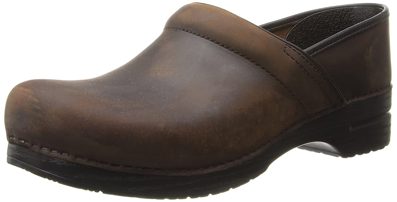 Dansko AB Ingrid White 14.5-15 US |14 UK |48 EU|antique brown oiled leather