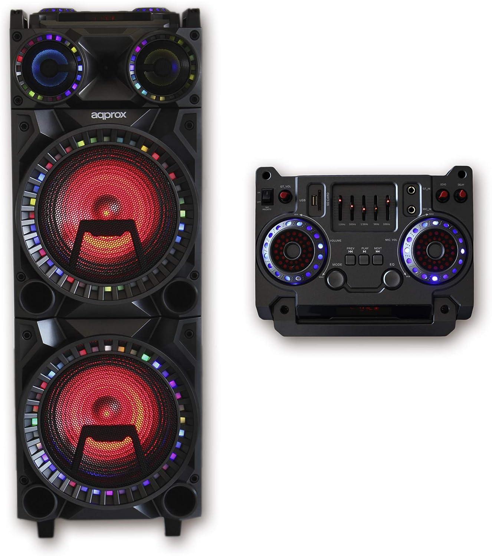 APPROXAltavoz Portable Bluetooth 4.2 Monster MPPRO+ 200W BATERIA 8H Panel DE Control Superior EQ