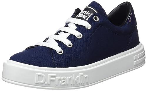 D. Franklin Gumme, Zapatillas para Mujer, Azul (Jeans), 39 EU