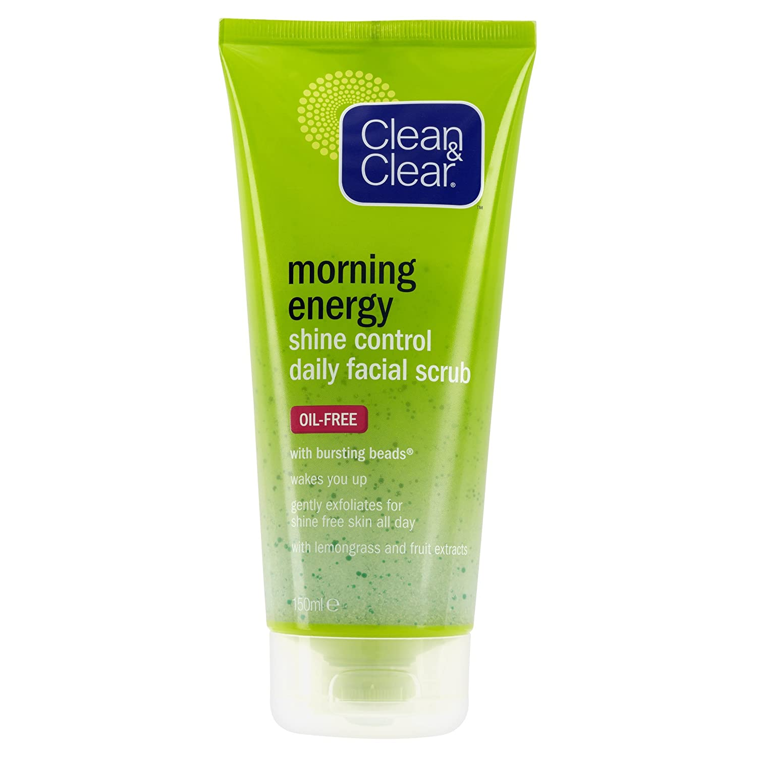 Clean & Clear Morning Energy Shine Control Daily Facial Scrub 150 ml Johnson and Johnson 7283203
