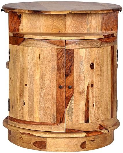 Art of Jodhpur PRNV035 Bar Cabinet (Natural)