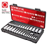 CARBYNE 33 Piece Master Hex Bit Socket Set, S2