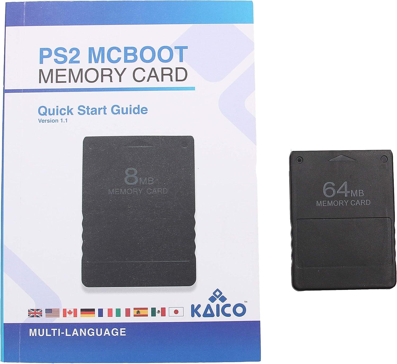 McBoot FMCB 1.966 Tarjeta de memoria 64MB para la Sony Playstation ...