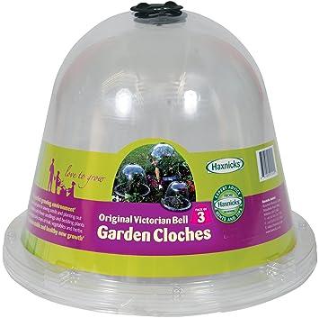 Good Tierra Garden 50 1100 Haxnicks Protective Plant Bell, 3 Pack