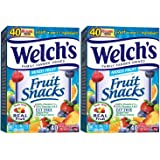 Welch's Fruit Snacks, Mixed Fruit, 40 Count, 2 PACK