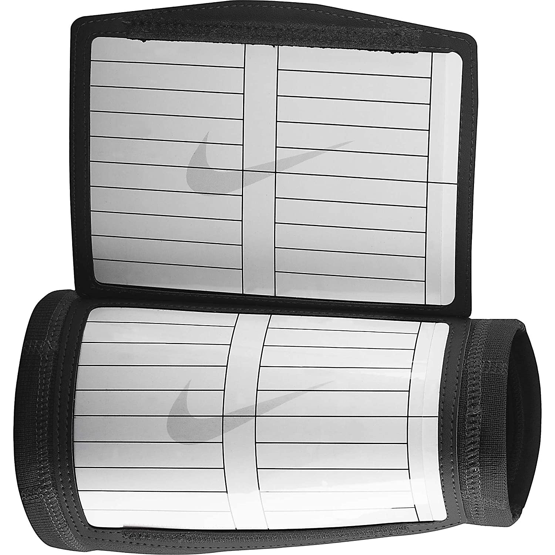 NikeプロコンバットDri - Fitプレーコーチリストバンド  ブラック/ホワイト B00NXFZCG6