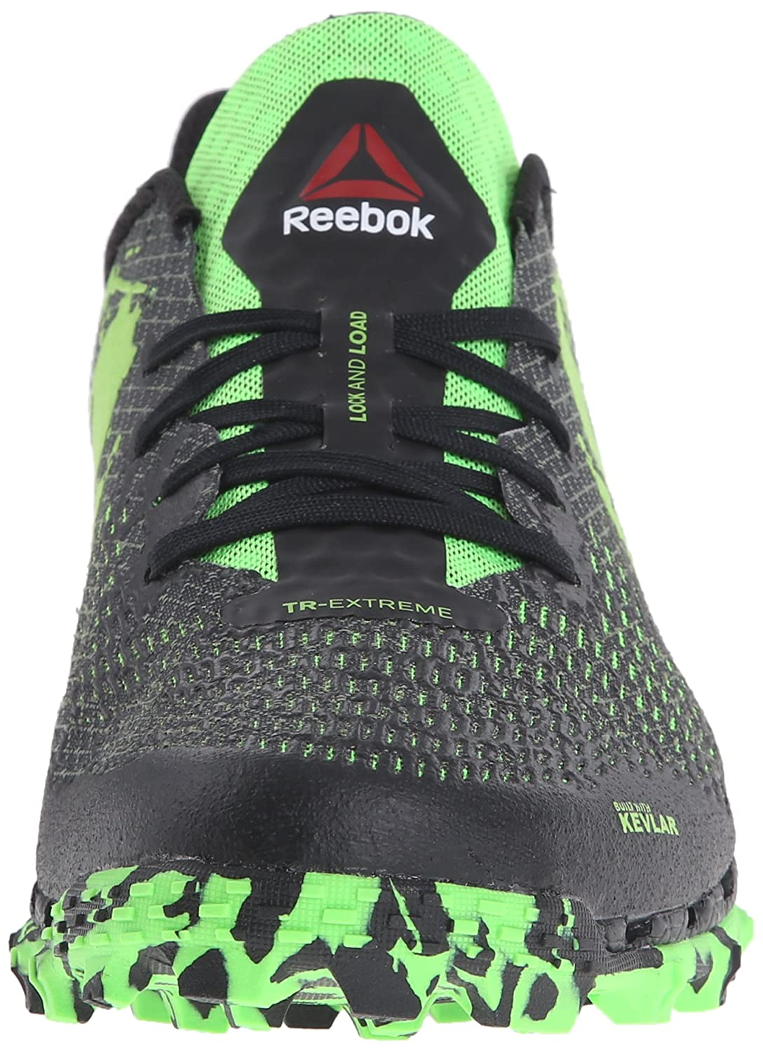 e38b316ab7b57 Reebok Men s All Terrain Extreme Wc Trail Running Shoe Gravel Black Solar  Green 8.5 D(M) US  Buy Online at Low Prices in India - Amazon.in