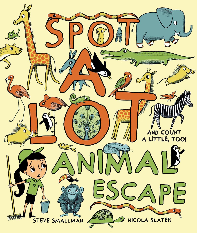 Download Spot A Lot! Animal Escape pdf epub