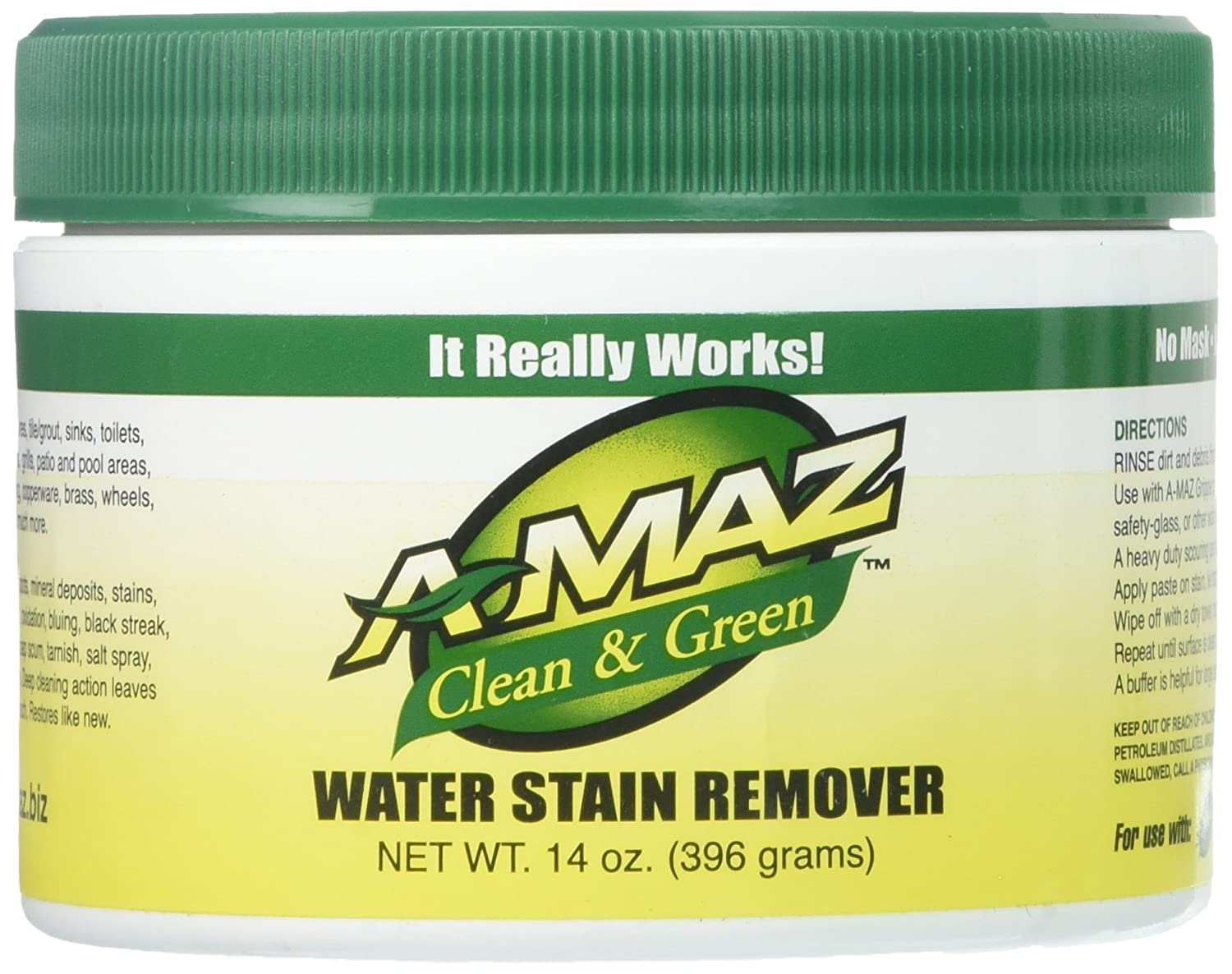 Amazon Amaz 11107 Water Stain Remover 14 Ounces Home Kitchen