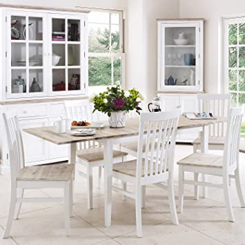 Florence extending table and  chairs set. Kitchen dining table