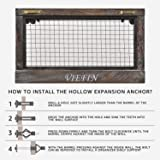 VIEFIN Rustic Wall Mounted Mesh Jewelry