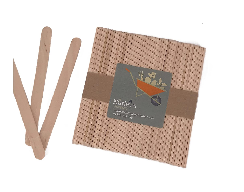 Nutley's Wooden Seedling Labels (Pack of 100) Nutley's