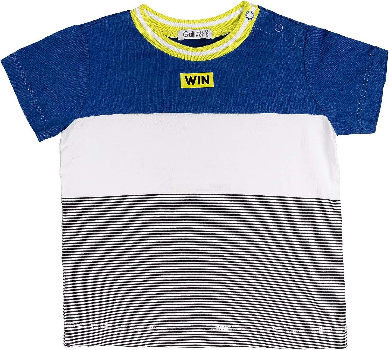 GULLIVER Camiseta de Manga Corta para Bebe Ni/ño T-Shirt