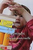 Construire le goût d'apprendre à l'école maternelle