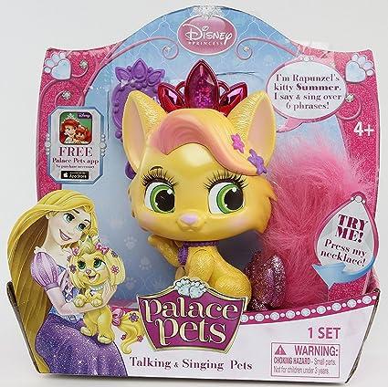 Amazon.com: Disney Princess Palace Mascotas Hablar y ...