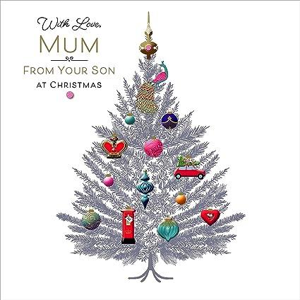 Carlton Cards 616230 - Tarjeta de felicitación navideña con ...