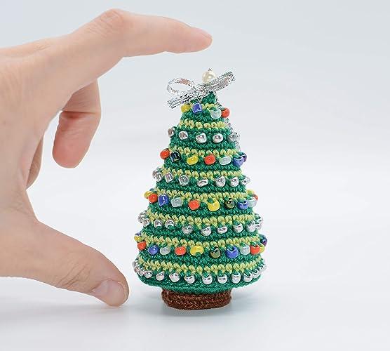 Albero Di Natale Decorato Ornamento In Miniatura Decorazioni Per