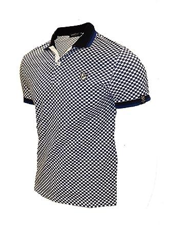 Para hombre Polo camisa Slim Fit Golf diseño de Fox de manga corta ...