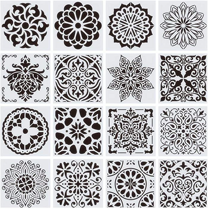Top 10 Large Floral Stencil For Painting On Furniture