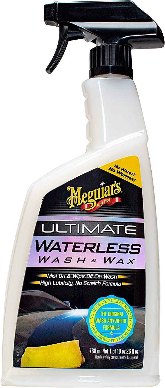 MEGUIAR'S G3626 26-Ounce Ultimate Waterless Wash & Wax